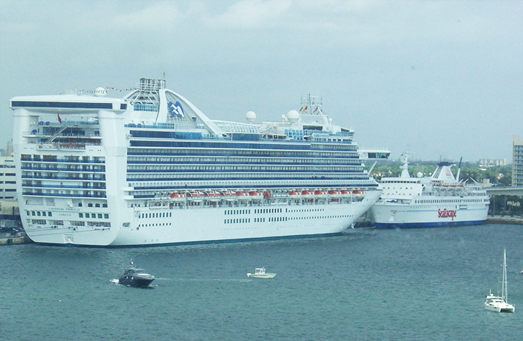 Caribbean Princess Route Map Itinerary Wiki Webcam Location - Azura cruise ship wiki